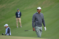 Tiger Woods (USA) is dejected after chipping into the trap on 18 during day 4 of the WGC Dell Match Play, at the Austin Country Club, Austin, Texas, USA. 3/30/2019.<br /> Picture: Golffile | Ken Murray<br /> <br /> <br /> All photo usage must carry mandatory copyright credit (© Golffile | Ken Murray)