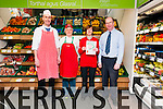 Dingle Sheehy's Spar Noel Ó Murchú, Helen Griffin, Lorraine Curran and Patrick Sheehy (proprietor) with the 5 Star Retailing Award.
