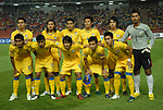 Players of Thailand Team line up and pose for a photo prior to their AFF Suzuki Cup 2008 Semi-Finals 2nd leg match between Thailand and Indonesia at Rajamangala Stadium on 20 December 2008, in Bangkok, Thailand. Photo by Stringer / Lagardere Sports