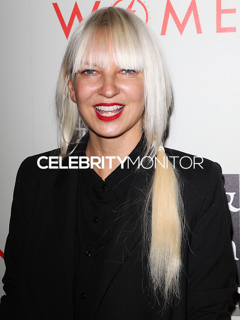 "BEVERLY HILLS, CA, USA - MAY 10: Sia at the ""An Evening With Women"" 2014 Benefiting L.A. Gay & Lesbian Center held at the Beverly Hilton Hotel on May 10, 2014 in Beverly Hills, California, United States. (Photo by Celebrity Monitor)"