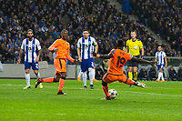 Liverpool's Sadio Mane scores the opening goal <br /> <br /> Photographer Craig Mercer/CameraSport<br /> <br /> UEFA Champions League Round of 16 First Leg - FC Porto v Liverpool - Wednesday 14th February 201 - Estadio do Dragao - Porto<br />  <br /> World Copyright &copy; 2018 CameraSport. All rights reserved. 43 Linden Ave. Countesthorpe. Leicester. England. LE8 5PG - Tel: +44 (0) 116 277 4147 - admin@camerasport.com - www.camerasport.com