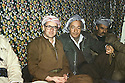 Iran 1980.Aziz Mohammed ( 2nd right ) of communist party in Rajan  with Dr.Mohammed Goma, left.Iran 1980.Aziz Mohammed , 2eme a Droite, du parti communiste, avec Dr. Mohammed Saleh Goma, a gauche, a Rajan