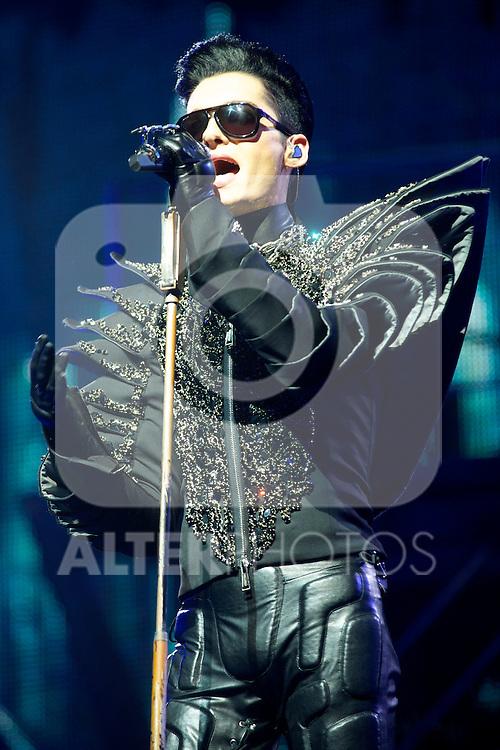 Tokio Hotel perform at Palacio de los Deportes in Madrid