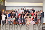 THE BIG 4-OH: Caroline McConnell, Caherleaheen, Tralee (seated centre) having a great time celebrating her 40th birthday with a large group family and friends at the Manor West hotel, Tralee on Saturday.