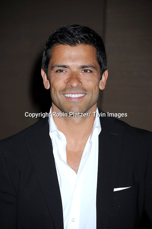 Mark Consuelos attending The Pampers Event at Mount Sinai Hospital on April 12, 2011 to kick off Little Miracle Missions, a program that supports and protects babies and their families.