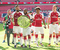 Arsenal's Alexandre Lacazette after  the The FA Community Shield Final match between Arsenal and Chelsea at Wembley Stadium, London, England on 6 August 2017. Photo by Andrew Aleksiejczuk / PRiME Media Images.