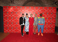 Danny Jones, Jessie J, Emma Willis, Pixie Lott and will.i.am at the Voice Kids UK 2019 Photocall held at The Royal Society of Arts, London on June 6th 2019<br /> CAP/ROS<br /> ©ROS/Capital Pictures