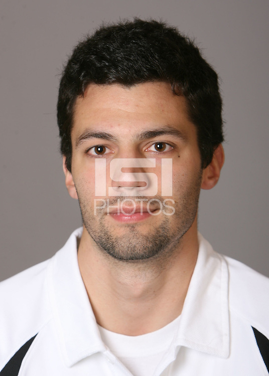 STANFORD, CA - NOVEMBER 12:  Andy Price of the Stanford Cardinal men's volleyball team poses for a headshot on November 12, 2008 in Stanford, California.