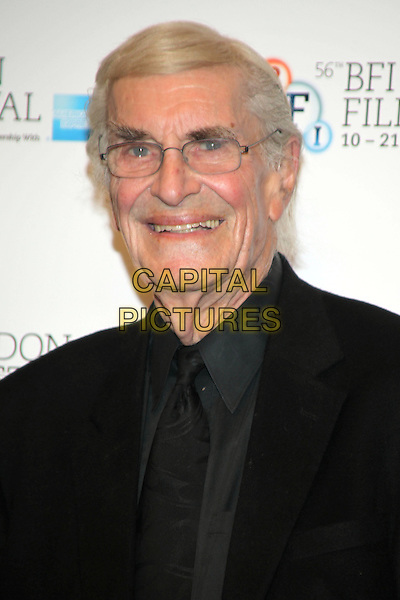 Martin Landau.'Frankenweenie' photocall ahead of the 56th BFI London Film Festival Opening Gala, Corinthia Hotel, London, England..10th October 2012.headshot portrait black glasses smiling .CAP/JEZ  .©Jez/Capital Pictures.