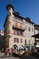 Europe/France/Midi-Pyrénées/46/Lot/Figeac: jour de marché - Place  Carnot