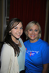 "One Life To Live Tonja Walker ""Alex"" and ""Marie"" GL poses with her daughter Bree at 9th Annual Daytime Stars & Strikes Charity Event to benefit The American Cancer Society on October 7, 2012 at Bowlmor Lanes Times Square, New York City, New York.  (Photo by Sue Coflin/Max Photos)"
