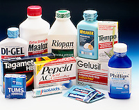 ANTACIDS & ACID INHIBITORS<br />