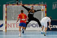 19.01.2013 World Championshio Handball. Match between Spain vs Croatia (25-27) at the stadium La Caja Magica. The picture show  Arpad Sterbik Capar (Goalkeeper of Spain)