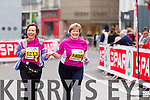 Elizabeth Hoare, 1213 and Susan Reilly, 1492  who took part in the 2015 Kerry's Eye Tralee International Marathon Tralee on Sunday.