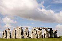 Ancient rock circle of Stonehenge