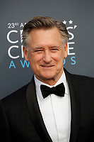 Bill Pullman attends the 23rd Annual Critics' Choice Awards at Barker Hangar in Santa Monica, Los Angeles, USA, on 11 January 2018. Photo: Hubert Boesl - NO WIRE SERVICE - Photo: Hubert Boesl/dpa /MediaPunch ***FOR USA ONLY***