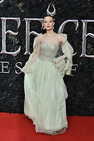 Elle Fanning<br /> 'Maleficent: Mistress of Evil'  UK film premiere at the BFI Imax Waterloo, London England on October 09, 2019.<br /> CAP/Phil Loftus<br /> ©Phil Loftus/Capital Pictures /MediaPunch ***FOR USA ONLY***