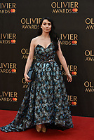 Danielle Hope<br /> The Olivier Awards 2018 , arrivals at The Royal Albert Hall, London, UK -on April 08, 2018.<br /> CAP/PL<br /> &copy;Phil Loftus/Capital Pictures