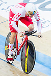 Krzysztof Maksel of Poland competes in the Men's Kilometre TT - Qualifying during the 2017 UCI Track Cycling World Championships on 16 April 2017, in Hong Kong Velodrome, Hong Kong, China. Photo by Chris Wong / Power Sport Images