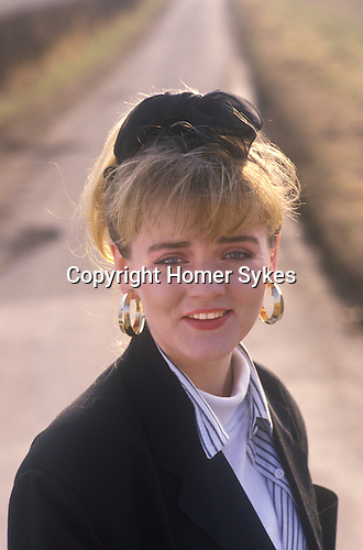 Actress Shelagh O'Hara, who played Karen Grant in Brookside the TV afternoon soap.