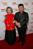 BEVERLY HILLS, CA - JANUARY 11: Zhao Shuzhen and Tzi Ma attend AARP The Magazine's 19th Annual Movies For Grownups Awards at the Beverly Wilshire on January 11, 2020 in Beverly Hills, California.   <br /> CAP/MPI/IS<br /> ©IS/MPI/Capital Pictures