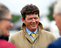 Trainer Andrew Balding during Evening Racing at Salisbury Racecourse on 11th June 2019