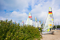 First day Delta Lloyd Regatta  2014 (20/25 May 2014). Medemblik - the Netherlands.