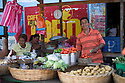 26/02/16 <br /> <br /> A market trader on his stall in Granada, Nicaragua.<br /> <br /> All Rights Reserved: F Stop Press Ltd. +44(0)1335 418365   +44 (0)7765 242650 www.fstoppress.com