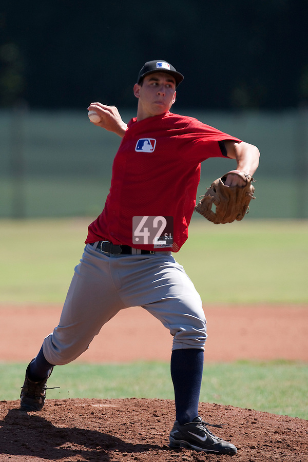 Baseball - MLB European Academy - Tirrenia (Italy) - 20/08/2009 - Jan-Niclas Stocklin (Germany)