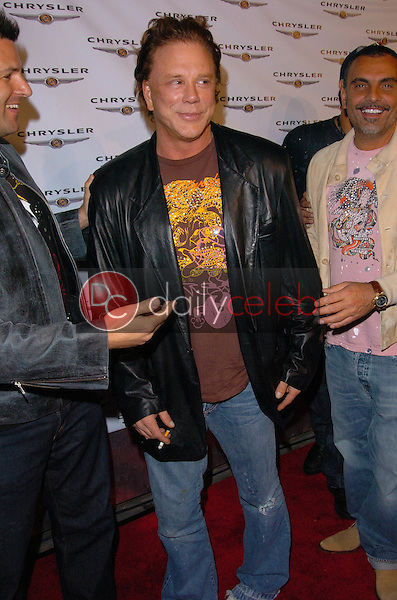 Mickey Rourke<br /> at the Up Close and Personal with The Chrysler Crossfire and 300C, Vine Street Lounge, Hollywood, CA 05-07-05<br /> Chris Wolf/DailyCeleb.com 818-249-4998