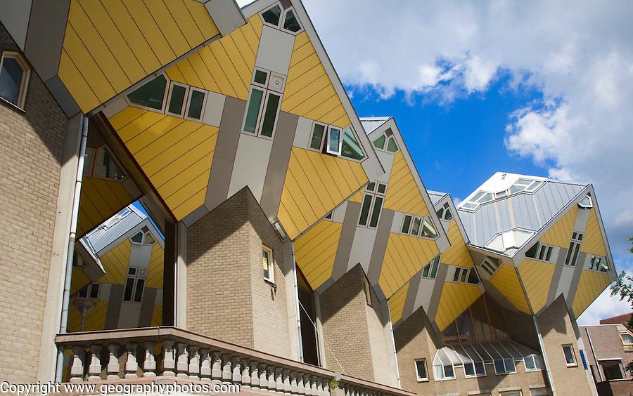 Kubuswoning Cube Houses, Blaak, Rotterdam, Netherlands architect Piet Blom