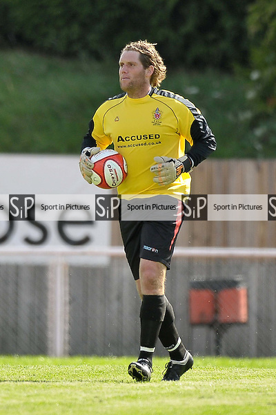 Ollie Morris-Sanders (Hornchurch goalkeeper). AFC Hornchurch Vs Wealdstone. Ryman Premier League. The Stadium. Essex. 30/08/2010. Mandatory Credit Sportinpictures/Garry Bowden