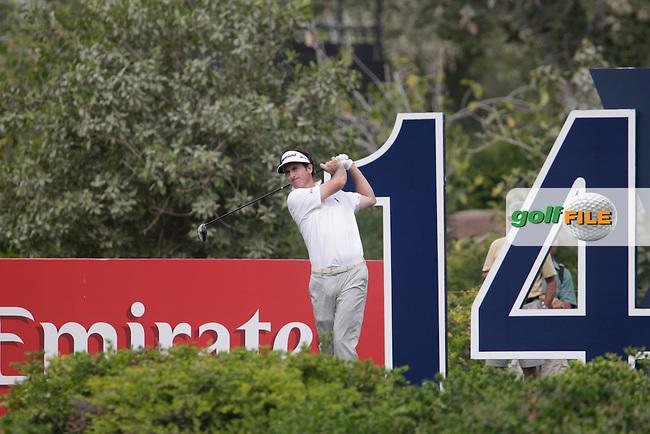 Gonzalo Fdez-castano (ESP) during round 4 of the DP World, Tour Championship, Dubai, UAE.<br /> Picture: Fran Caffrey www.golffile.ie
