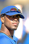 17 March 2007: New York Mets infielder Jose Reyes waits to take the field prior to facing the Washington Nationals at Tradition Field in Port St. Lucie, Florida...Mandatory Photo Credit: Ed Wolfstein Photo