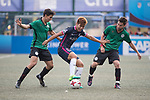 Kitchee (in navy blue) vs Yau Yee League Select (in green), during their Main Tournament match, part of the HKFC Citi Soccer Sevens 2017 on 27 May 2017 at the Hong Kong Football Club, Hong Kong, China. Photo by Chris Wong / Power Sport Images