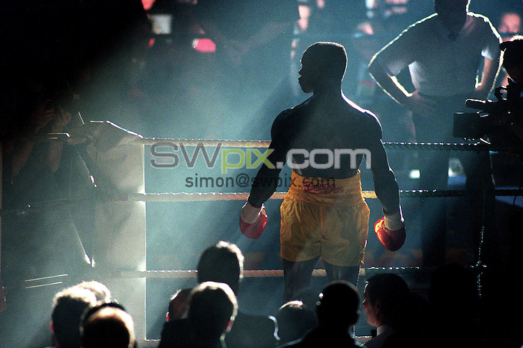 Pix:Michael Steele/SWpix...Boxing. Chris Eubank, Manchester GMEX...COPYRIGHT PICTURE>>SIMON WILKINSON..Chris Eubank.