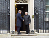 Narendra Damodardas Modi Prime Minister of India,  leader of the Bharatiya Janata Party makes a state visit to England and visits David Cameron Prime Minister in Downing Street. <br /> 12th November 2015 <br /> <br /> Downing Street, London, Great Britain <br /> <br /> Narendra Damodardas Modi<br /> and David Cameron at door of 10 Downing Street <br /> <br /> <br /> Photograph by Elliott Franks <br /> Image licensed to Elliott Franks Photography Services
