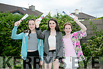 Enjoying the Kerins O'Rahilly's  Race Night fundraiser on Friday were l-r  Niamh Moran, Ella Houston and Lucy Linane