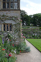 Summer border on The Fountain Terrace at Haddon Hall