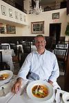 Chef Raphael Lunetta at JiRaffe Restaurant, Santa Monica, CA