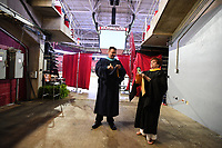 NWA Democrat-Gazette/J.T. WAMPLER Saturday May 20, 2017 during commencement ceremonies for Springdale Har-Ber High School graduates held at Bud Walton Arena on the University of Arkansas campus in Fayetteville