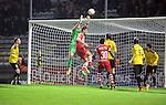 2015-10-30 / Voetbal / seizoen 2015-2016 / SK Lierse - R. Antwerp FC / Maxime Biset (Antwerp) is gevaarlijk voor het doel van Brondeel<br /><br />Foto: Mpics.be