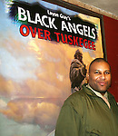 Layon Gray - author and director and actor in Black Angels Over Tuskegee - The Story of the Tuskegee Airman on February 7, 2010 and continuing. Check it out at www.theblackgents.com (Photo by Sue Coflin/Max Photos)
