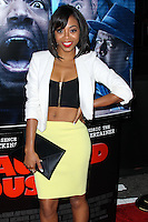 "LOS ANGELES, CA, USA - APRIL 16: Bresha Webb at the Los Angeles Premiere Of Open Road Films' ""A Haunted House 2"" held at Regal Cinemas L.A. Live on April 16, 2014 in Los Angeles, California, United States. (Photo by Xavier Collin/Celebrity Monitor)"