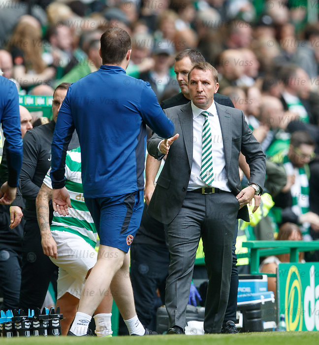 Jon Daly and Brendan Rodgers
