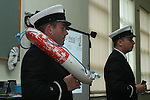 Members of the Coastguard when they visited Stabannon Primary School to give a talk on water safety...Photo NEWSFILE/Jenny Matthews.(Photo credit should read Jenny Matthews/NEWSFILE)....This Picture has been sent you under the condtions enclosed by:.Newsfile Ltd..The Studio,.Millmount Abbey,.Drogheda,.Co Meath..Ireland..Tel: +353(0)41-9871240.Fax: +353(0)41-9871260.GSM: +353(0)86-2500958.email: pictures@newsfile.ie.www.newsfile.ie.FTP: 193.120.102.198.