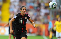 Alex Krieger during the FIFA Women's World Cup at the FIFA Stadium in Dresden, Germany on July 10th, 2011.