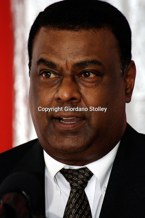 DURBAN - 20 July 2007 - Absa Bank's KwaZulu-Natal provincial manager for small business Sid Moodley speaks at the opening of an Absa Bank business advisory centre in Durban's Warwick Triangle area..Picture: Giordano Stolley/Allied Picture Press