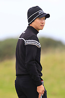 Jeunghun  Wang (KOR) on the 15th fairway during Round 4 of the Alfred Dunhill Links Championship 2019 at St. Andrews Golf CLub, Fife, Scotland. 29/09/2019.<br /> Picture Thos Caffrey / Golffile.ie<br /> <br /> All photo usage must carry mandatory copyright credit (© Golffile | Thos Caffrey)