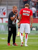Trainer Markus Anfang , Marcel Risse /   2.Bundesliga  DFL /  2018/2019 / 13.08.2018 / 1.FC Koeln vs. 1.FC Union Berlin FCU / DFL regulations prohibit any use of photographs as image sequences and/or quasi-video. /<br />      <br />    <br />  *** Local Caption *** &copy; pixathlon<br /> Contact: +49-40-22 63 02 60 , info@pixathlon.de